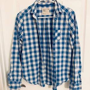 American Eagle Outfitters flannel button shirt